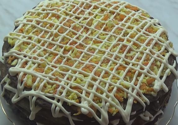 печеночный торт простой рецепт