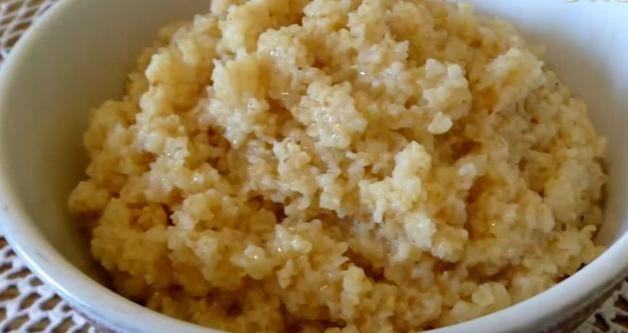 Рецепт молочной кукурузной каши