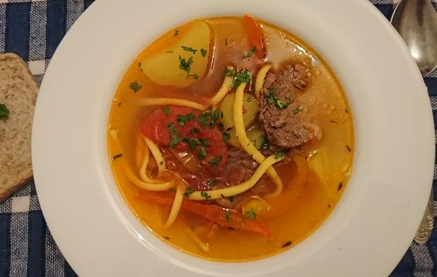 Суп из говядины рецепты с картошкой