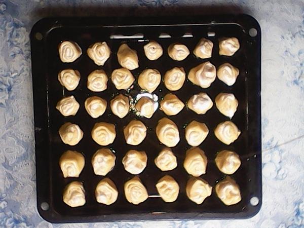 печенье на противене