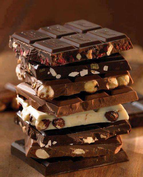 шоколад виды