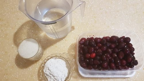 ингредиенты для киселя