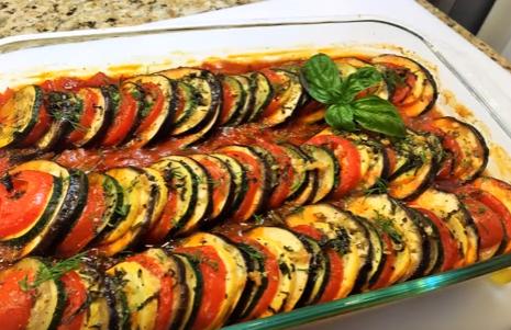 Блюда из овощей: рецепты овощей из духовки  с фото простые вкусные