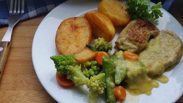 картофель жареный отварной