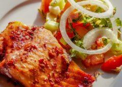 Очень вкусная рыба по-гречески
